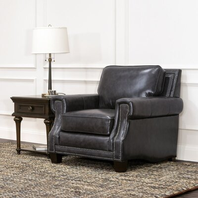 Riley Leather Club Chair