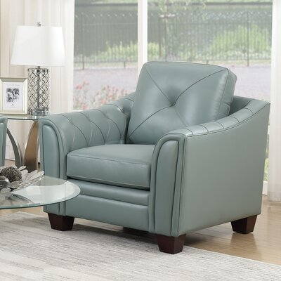 Chiang Club Chair Upholstery: Spa Blue