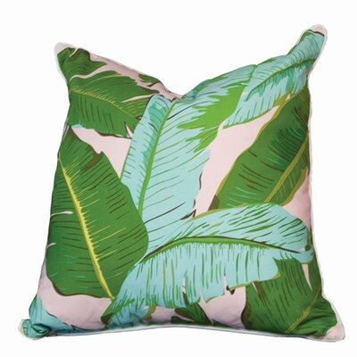 Botanical Cotton Throw Pillow