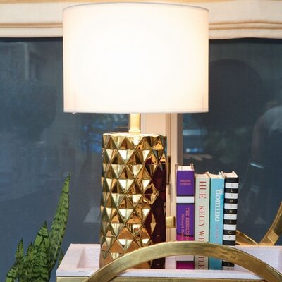 "8 Oak Lane Geo 19"" Table Lamp"