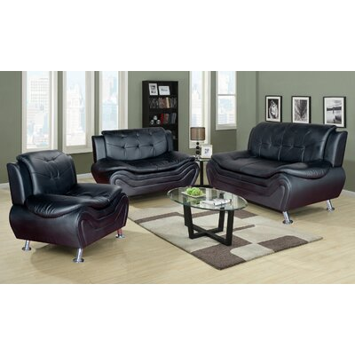 Ethel 3 Piece Sofa Set