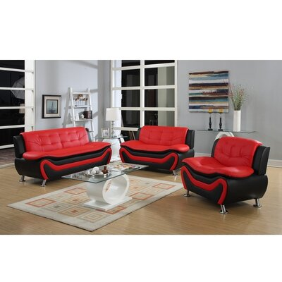 Roselia 3 Piece Sofa Set