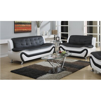 Machelle 2 Piece Living Room Set