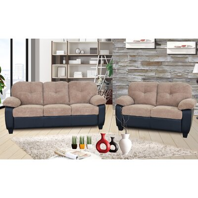 Talia 2 Piece Living Room Set