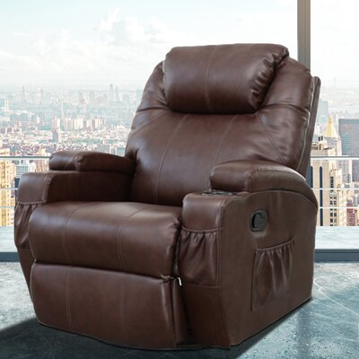 Dakota Heated Vibrating Massage Recliner