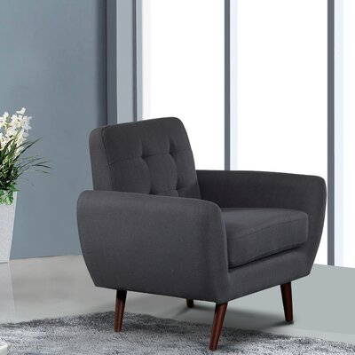 Philip Armchair Upholstery: Dark Gray