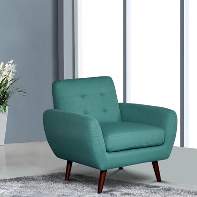 Philip Armchair Upholstery: Jade Green