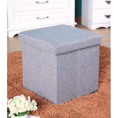 Balling Storage Ottoman Upholstery: Gray