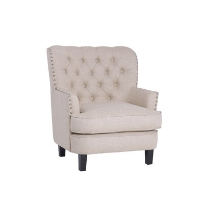 Amatrudo Modern Armchair Upholstery: Beige