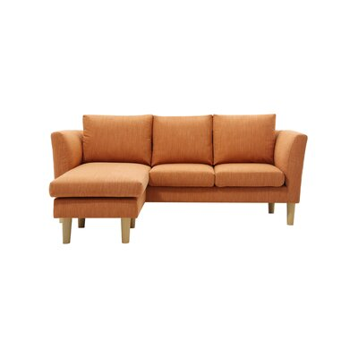 Callicles Living Room Reversible Sectional with Ottoman