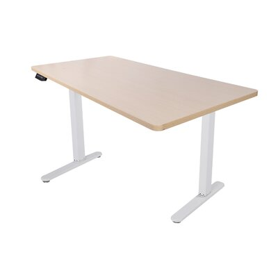 48.4 H x 63 W Desk Base Color: White