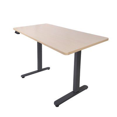 48.4 H x 63 W Desk Base Color: Silver