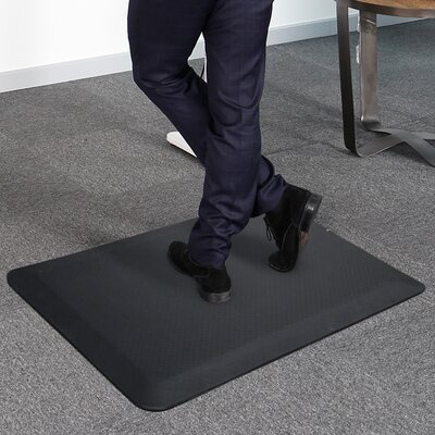 Delmore Standing Desk or Kitchen Mat Color: Black
