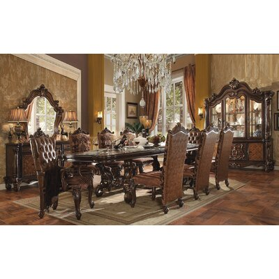Versailles Dining Table Finish: Cherry Oak