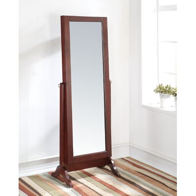 Remiro Free standing Jewelry Armoire with Mirror