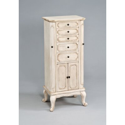 Lief Free Standing Jewelry Armoire with Mirror
