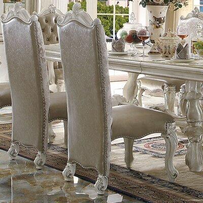 Versailles Side Chair Finish: Bone White