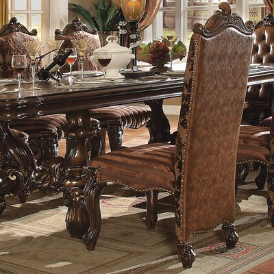 Versailles Side Chair Finish: Cherry Oak