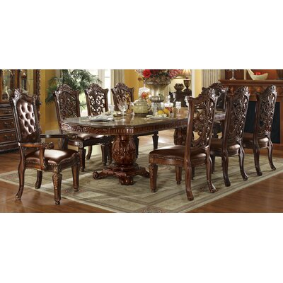 Vendome Floral Carved Side Chair