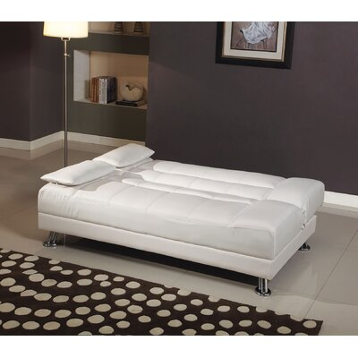 A&J Homes Studio ZD-57WF0A7J9WHT Fae Sleeper Sofa