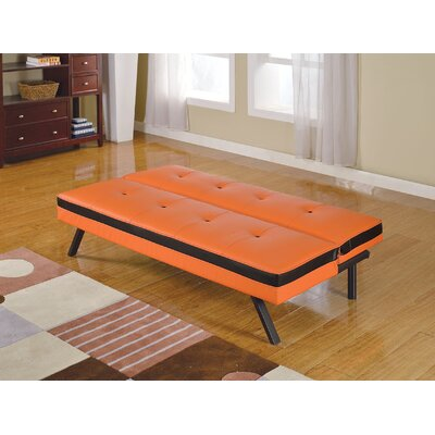 Penly Convertible Sofa Upholstery: Orange