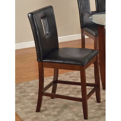 Justin Dining Chair Color: Black