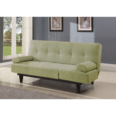 Cybil Convertible Sofa Upholstery: Apple Green