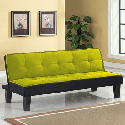 Hamar Convertible Sofa Upholstery: Green
