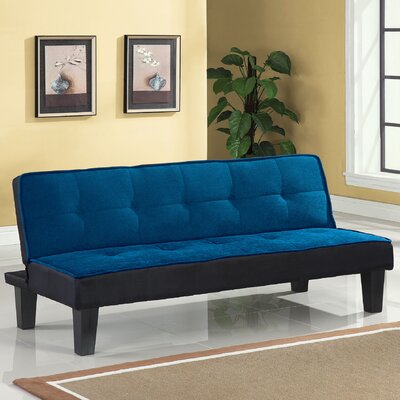 Hamar Sleeper Sofa Upholstery: Blue