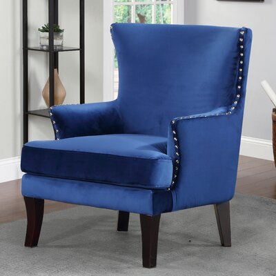 Zofia Arm Chair Upholstery: Blue