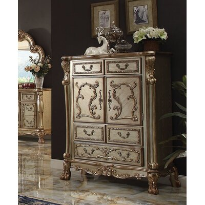 Perales 5 Drawer Chest