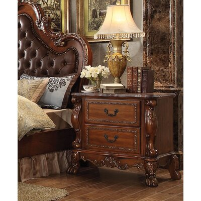 Rangely 2 Drawer Nightstand