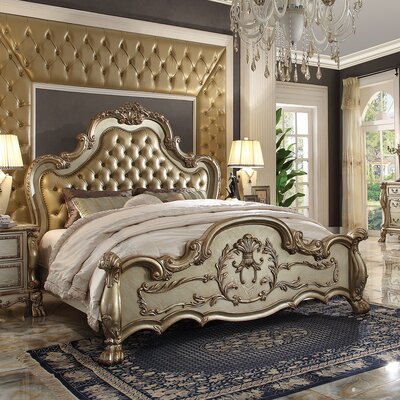 Perales Upholstered Panel Bed Size: Queen