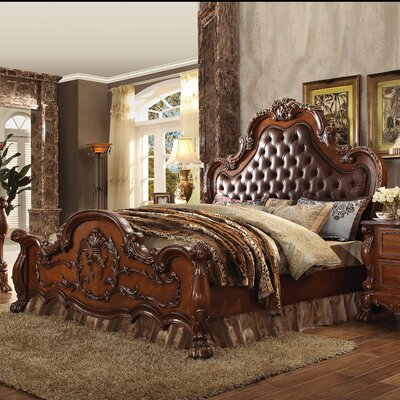 Rangely Upholstered Panel Bed Size: Queen