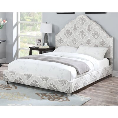 Augustin Fabric Platform Bed Size: Queen