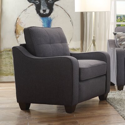 Beyer Armchair Upholstery: Gray