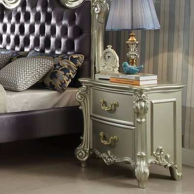 Westhoughton 2 Drawer Nightstand