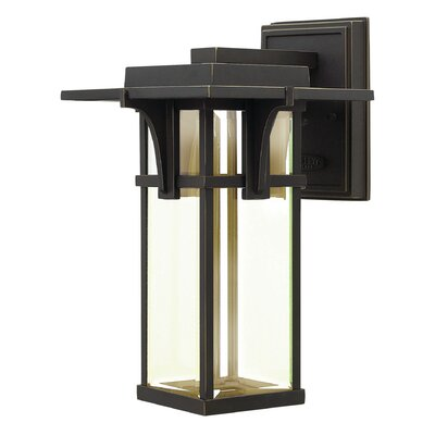Manhattan 1-Light Outdoor Wall Lantern