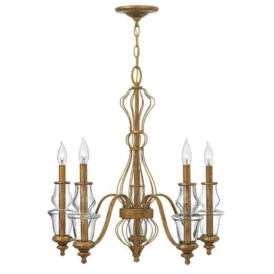Celine 5-Light Candle-Style Chandelier