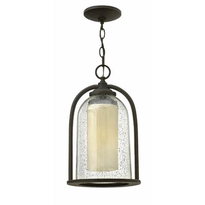 Quincy 1-Light Outdoor Pendant