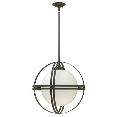 Atrium 1-Light Globe Pendant Bulb Type: 15W LED