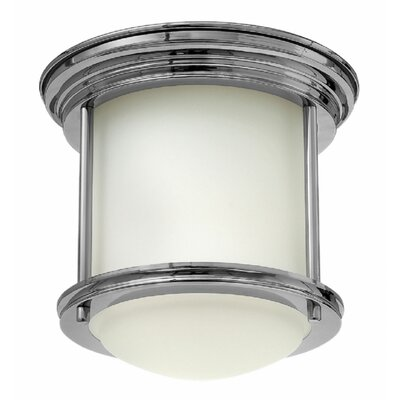 Byford 1-Light Flush Mount Finish: Chrome