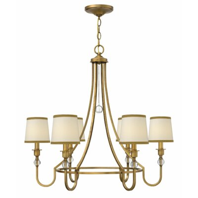 Morgan 6-Light Shaded Chandelier