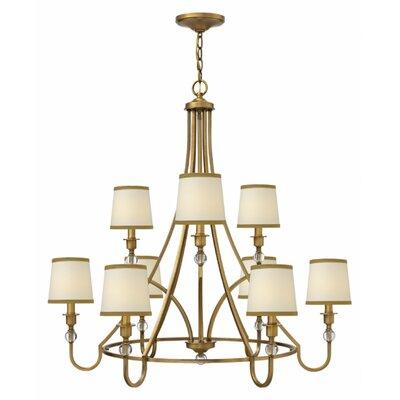 Kessler 9-Light Candle-Style Chandelier