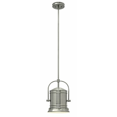 Pullman 1-Light Mini Pendant Finish: Brushed Nickel