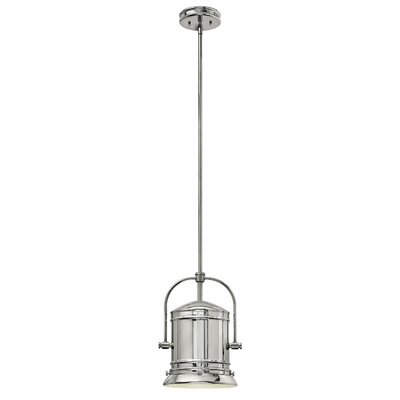 Pullman 1-Light Mini Pendant Finish: Chrome