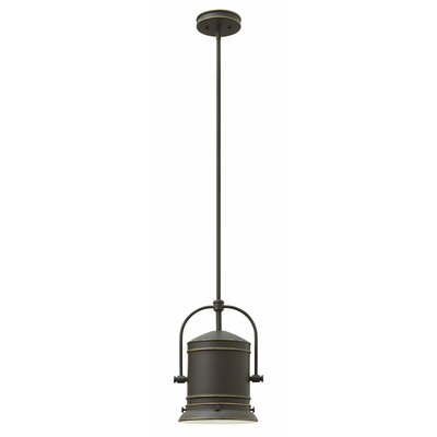 Pullman 1-Light Mini Pendant Finish: Oil Rubbed Bronze