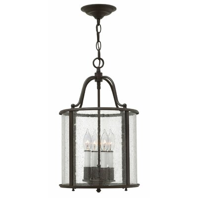 Gentry 4-Light Foyer Pendant