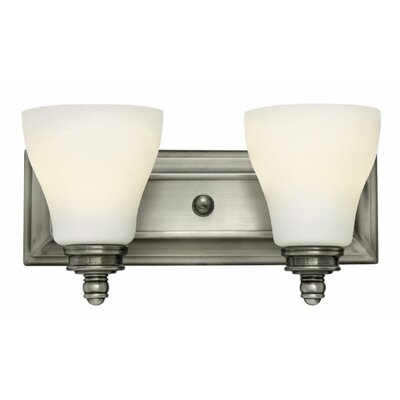 Claire 2-Light Vanity Light Finish: Antique Nickel