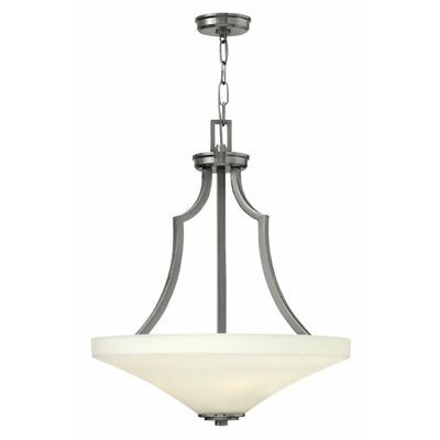 Spencer 4-Light Bowl Pendant Finish: Brushed Nickel